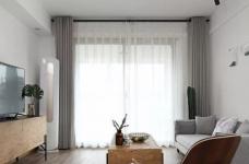 80平现代简约两居室,原木风好温暖!图_8