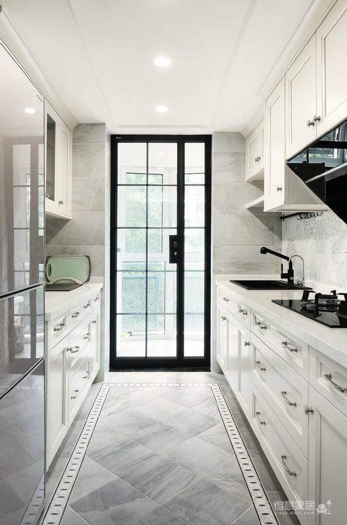 美式轻奢风三居室装修设计,喜欢这种精致优雅的细腻之美