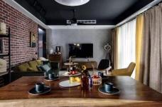 Onero Design | 131㎡精装房改工业风 — 烘焙师的自由梦之家。图_13