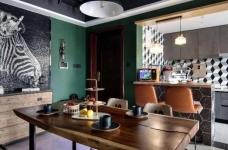 Onero Design | 131㎡精装房改工业风 — 烘焙师的自由梦之家。图_7