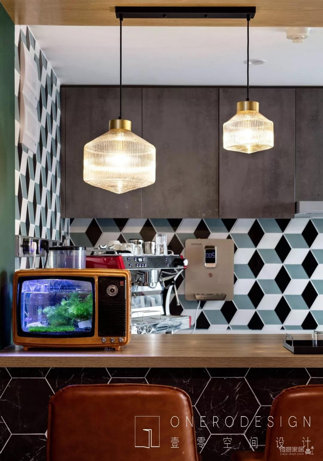 Onero Design | 131㎡精装房改工业风 — 烘焙师的自由梦之家。