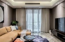 80㎡咖色调·现代简约风格家居设计,就喜欢这种细腻质感的氛围! 图_1