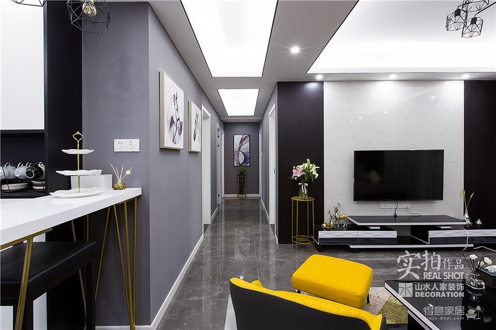 128平四室两厅现代简约