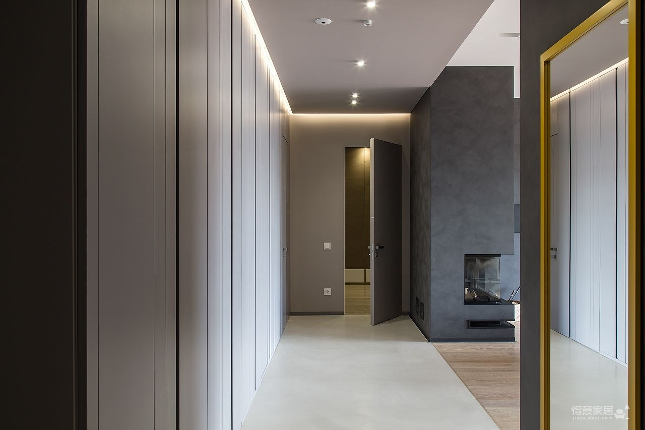 150㎡ 现代简约风,地板拼花上墙超有feel!