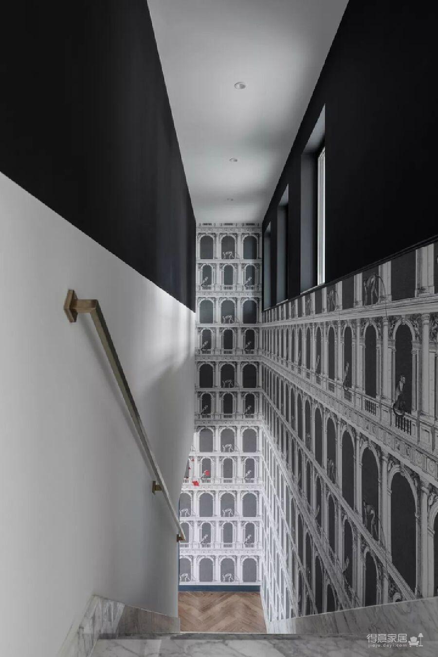 轻奢风、画廊风、博物馆风…这个家美得有点复杂!图_12