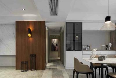 现代港式风格家居设计,舒适个性的高级灰空间,有格调! 