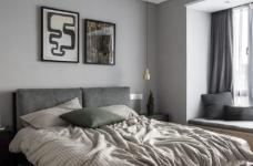 现代简约风格三居室装修,精致大气有颜值的轻奢空间,高端有格调!图_5
