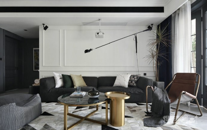 时尚简约混搭风家居装修,现代与复古交织下的理想生活! 图_3