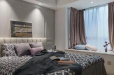 简约现代风格三居室装修案例,莫名一种沉稳内敛的舒适感! 图_6