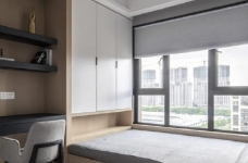 现代简约风格三居室装修,精致大气有颜值的轻奢空间,高端有格调!图_3
