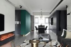 时尚简约混搭风家居装修,现代与复古交织下的理想生活! 图_1