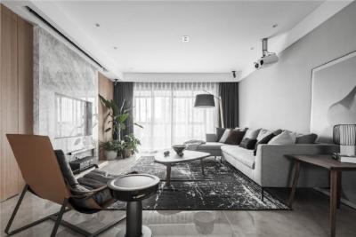现代简约风格三居室装修,精致大气有颜值的轻奢空间,高端有格调!