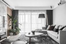 现代简约风格三居室装修,精致大气有颜值的轻奢空间,高端有格调!图_1