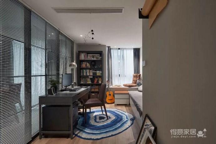 简约现代风格三居室装修案例,莫名一种沉稳内敛的舒适感! 图_9