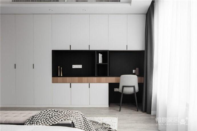 现代简约风格三居室装修,精致大气有颜值的轻奢空间,高端有格调!图_2