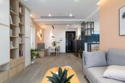 72㎡北欧两居室装修,色彩丰富有层次,温馨又可爱的家。 