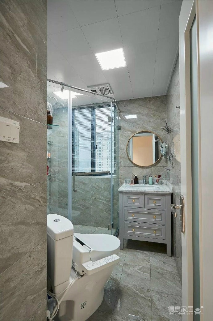 简约现代风格三居室装修案例,莫名一种沉稳内敛的舒适感! 图_8