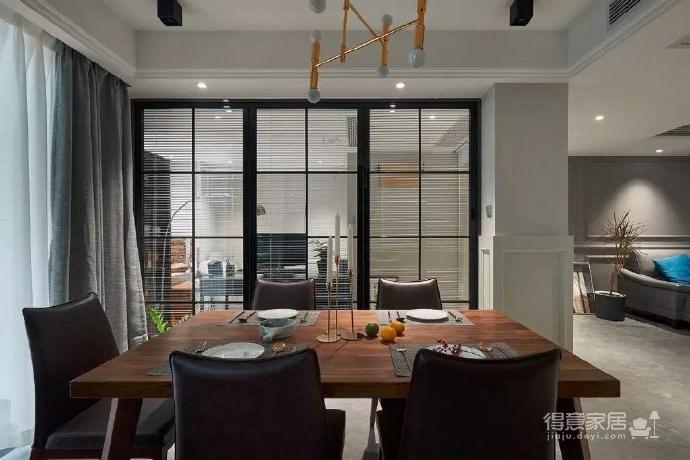 简约现代风格三居室装修案例,莫名一种沉稳内敛的舒适感! 图_7