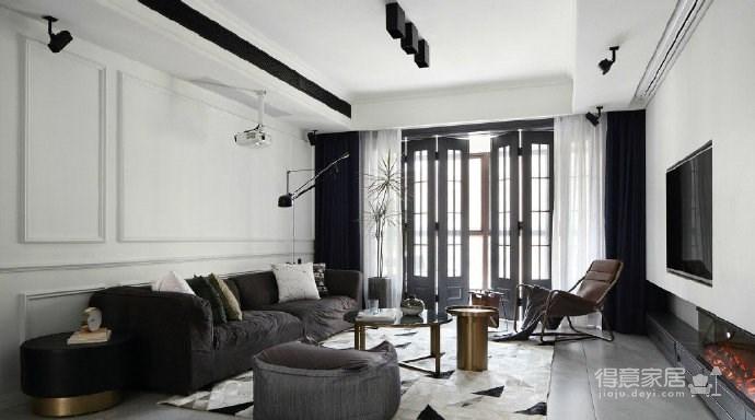 时尚简约混搭风家居装修,现代与复古交织下的理想生活! 图_5