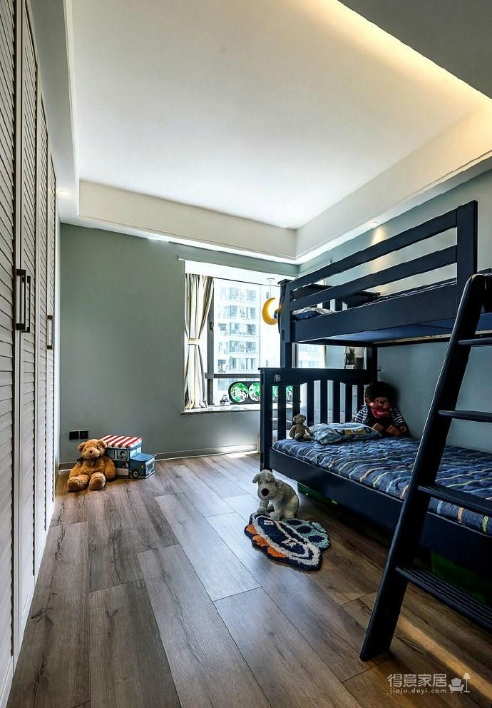 108平米现代简约风格家居装修,充满质感的空间搭配,很酷! 