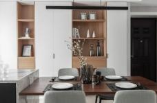 现代简约风格三居室装修,精致大气有颜值的轻奢空间,高端有格调!图_8