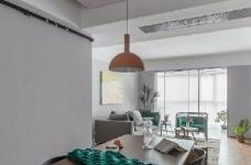 95㎡北欧混搭风三居室,淡淡的高级灰,使得空间特别柔和淡雅! 图_4