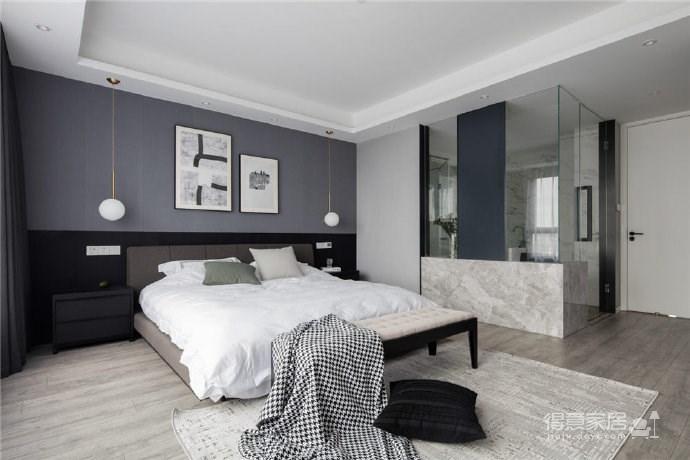 现代简约风格三居室装修,精致大气有颜值的轻奢空间,高端有格调!图_7