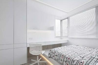 纯洁极简的白色,也能有极致美感!