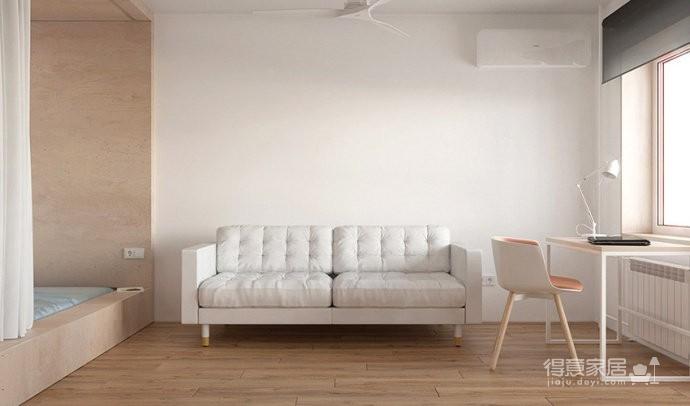 30平米单身公寓设计图_2