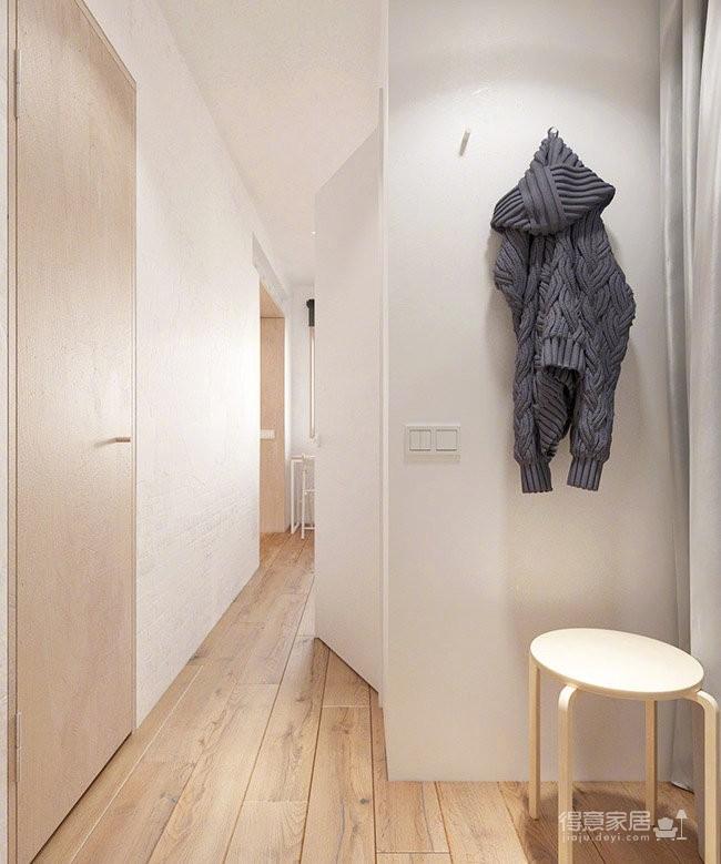 30平米单身公寓设计图_8