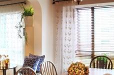 精选案例-地中海风格客厅餐厅展示图_7