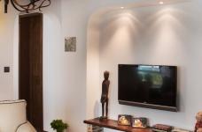 精选案例-地中海风格客厅餐厅展示图_2