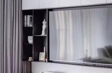 148㎡现代简约,90后女神的精装房,改成简洁舒适的家!图_4