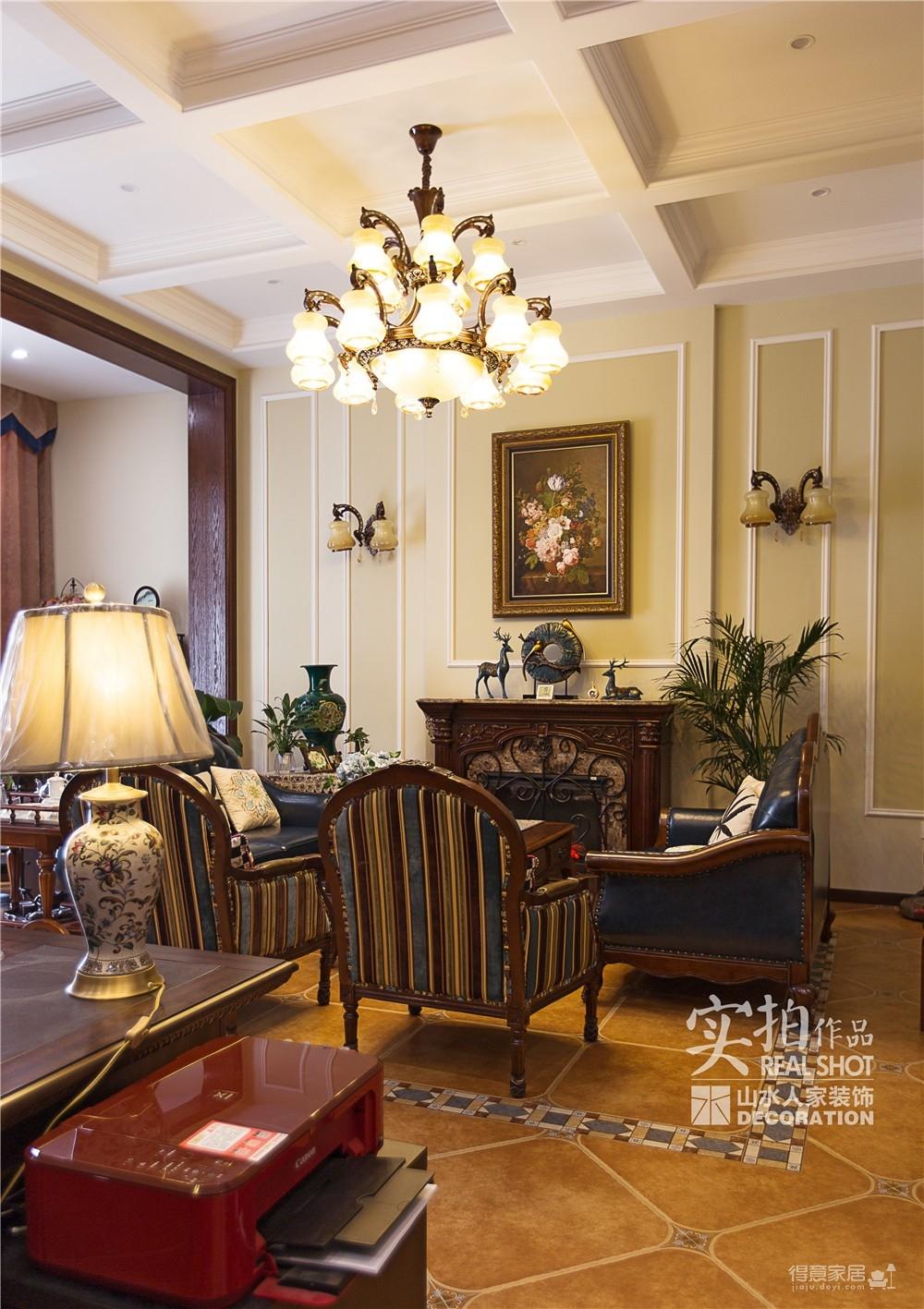 高尔夫国际别墅古典美式图_9
