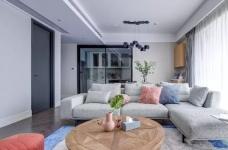 148㎡现代简约,90后女神的精装房,改成简洁舒适的家!图_3
