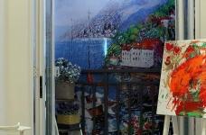 当代国际花园91平两室地中海风格图_8