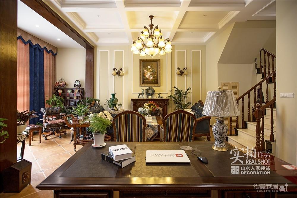 高尔夫国际别墅古典美式图_8