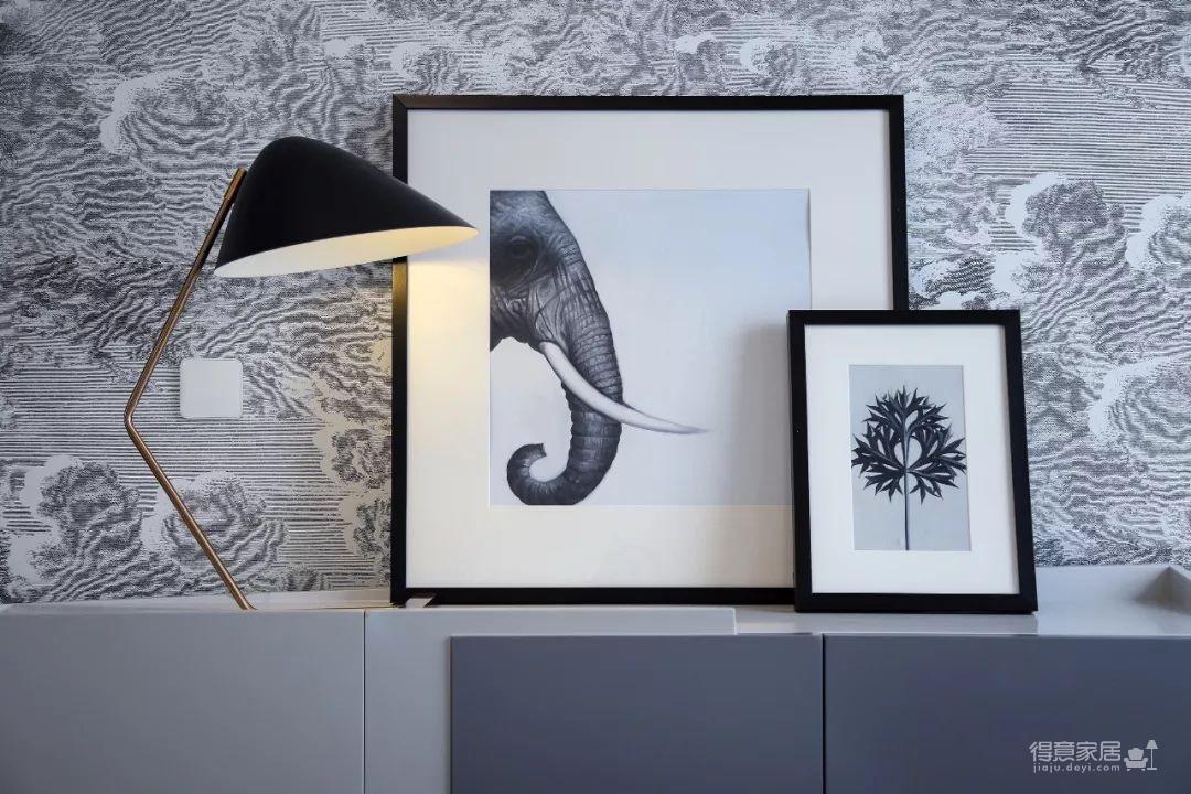 148㎡现代简约,90后女神的精装房,改成简洁舒适的家!图_2