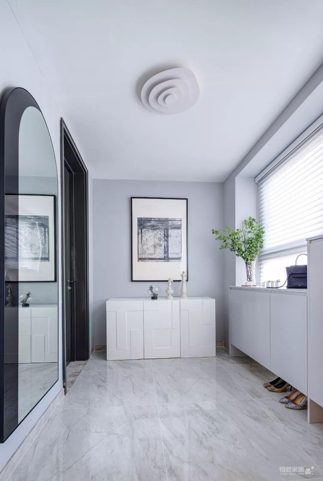 148㎡现代简约,90后女神的精装房,改成简洁舒适的家!图_6