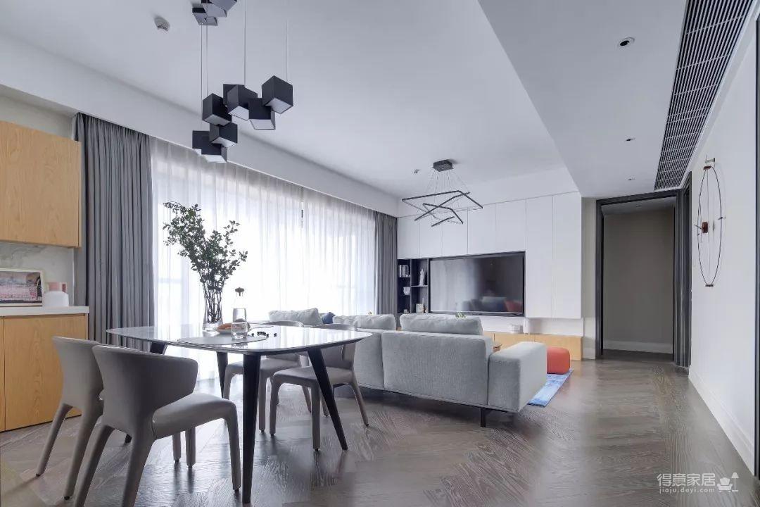 148㎡现代简约,90后女神的精装房,改成简洁舒适的家!图_17