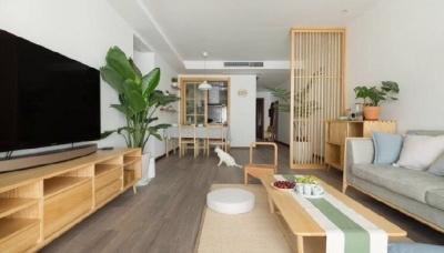 日式风的家,看起来是简约干净,住进去之后就觉得温暖舒服了。