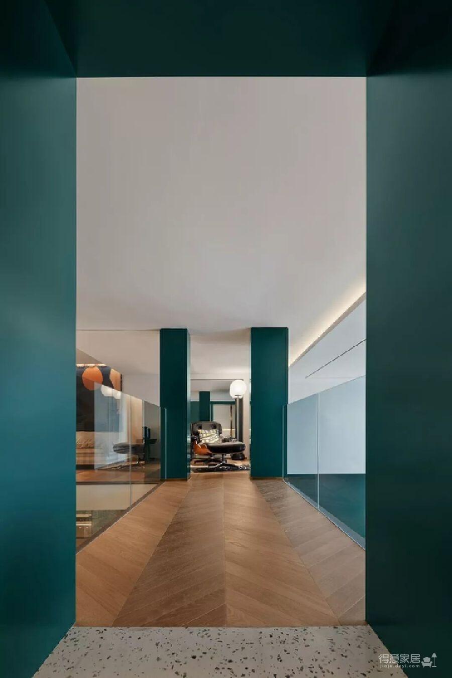 300m² 复式豪宅,给自己一个可以安放灵魂的家!图_12