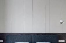 148㎡现代简约,90后女神的精装房,改成简洁舒适的家!图_11