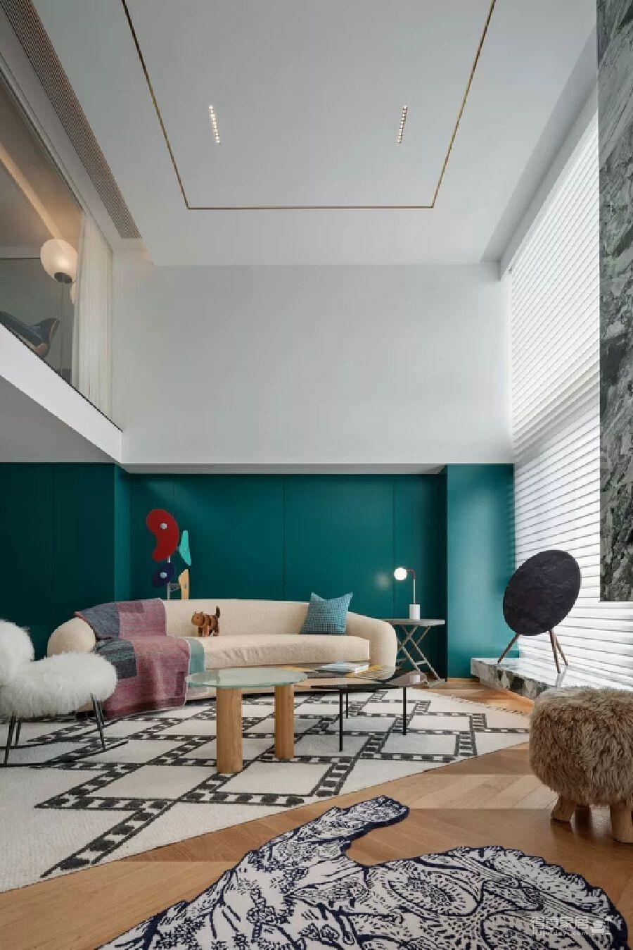 300m² 复式豪宅,给自己一个可以安放灵魂的家!图_10
