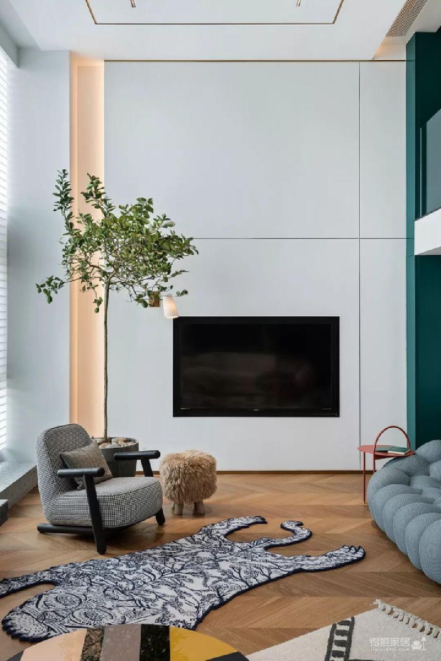 300m² 复式豪宅,给自己一个可以安放灵魂的家!图_13