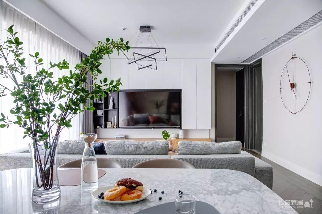 148㎡现代简约,90后女神的精装房,改成简洁舒适的家!图_1