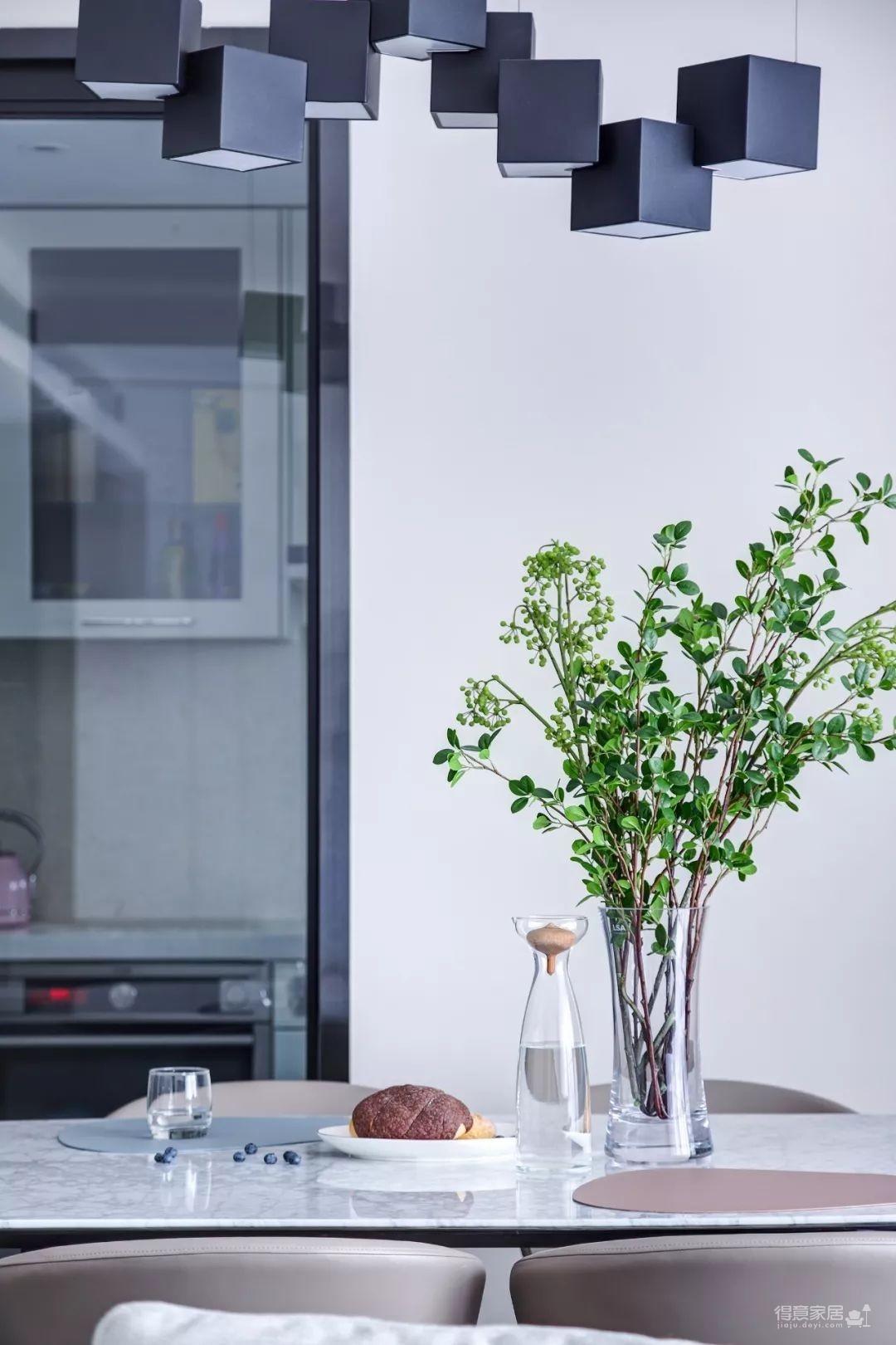 148㎡现代简约,90后女神的精装房,改成简洁舒适的家!图_14