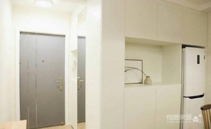 70平小户型装修,舒适与安心的北欧混搭风家居图_7