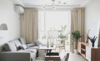 70平小户型装修,舒适与安心的北欧混搭风家居