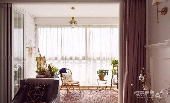 一种花园般气质的美式风装修,唯美,慵懒才是最好的休憩之所。 图_7